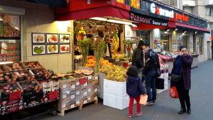 Chinatown i Paris, Frankrike.