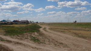Den största delen av Kazakstans yta är stäpp