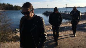 Dispyt - Mathias Lillmåns, Owe Inborr och Juuso Englund.