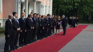 Estlands regering väntar på Sauli Niinistö