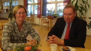Camilla Gunell och Paavo Lipponen.