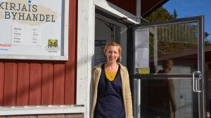 Sara Bergqvist, Kirjais byhandel, 31.3.2014