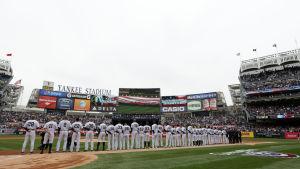Yankee Stadium, våren 2014