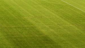 Hakkors på fotbollsplan i Kroatien.