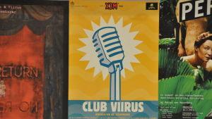 Club Viirus bjöd på ståuppkomik i ett tidigt skede