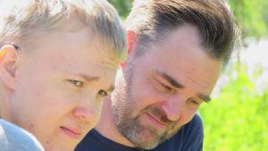 Timo ja hänen poikansa Jesse