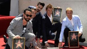 Backstreet Boys på Hollywood Walk of Fame