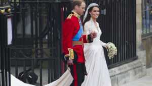 Prins William och Catherine Middleton gifte sig i april 2011.