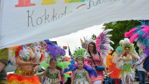 Prideparaden i Karleby 2018.