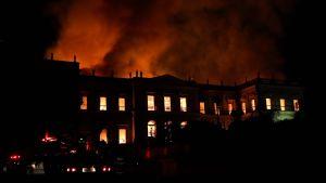 Museet som i år firade 200 års jubileum befaras ha totalförstörts med alla sina objekt