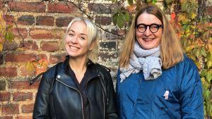 Jessica Wolff antog en diktutmaning. Litteraturvetaren Agneta Rahikainen hjälpte henne på traven