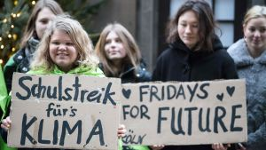 Strejk i Berlin.