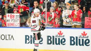 Chicagos Patrick Kane i Buffalo.