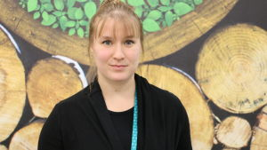 Andrea Weckman, sakkunnig vid Helsingforsregionens miljötjänster HRM.
