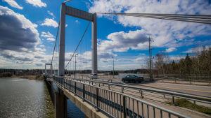 Rävsundsbron mellan Pargas och S:t Karins