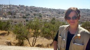 Nanette-Marie Forsström är människorättsrapportör på Västbanken