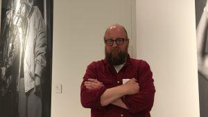 Bild på Jean Ramsay på Vanda konstmuseum Artsi.