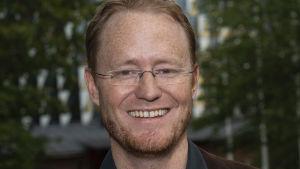 Porträtt på Björn Högberg.