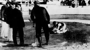 Brottning under OS i Aten 1906.