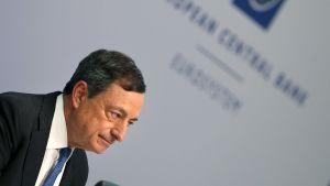 ECB:s ordförande Mario Draghi.