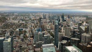 Vy över Toronto, Kanada