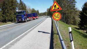 Stamväg 51 i Ingå ska asfalteras på nytt.