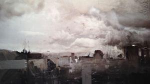 Bild ur Stefan Ottos utställning Traumwunsch på Sinne i Helsingfors
