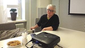 Yrsa Slotte är en av skribenterna i Nya ÖB.