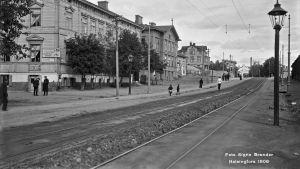 Tavastvägen år 1908.