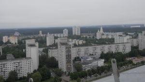 Höghus i Vitrysslands huvudstad Minsk