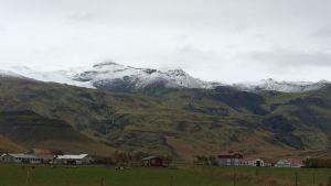Vulkanen Eyjafjallajökull i Island
