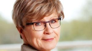 Monica Avellan, ordförande för Finlands Svenska Gymnastikförbund.