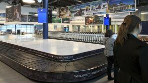 Rovaniemen lentokentän tuloaula