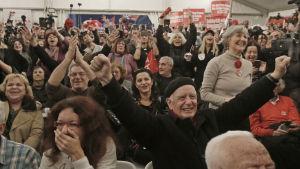 Valresultat i grekland