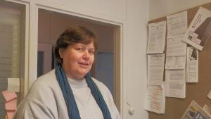 Huvudförtroendeman Maria Holmstedt-Lehtinen, JHL 50