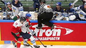 Mikael Granlund och lejonen tryckte till sig en seger över Ungern.