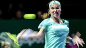 Svetlana Kuznetsova slår boll.