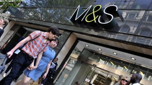 Marks & Spencers butik i norra London.