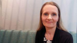 Marketta Lundell är chef för betalkorten vid S-banken.