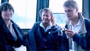 Lisbeth och Olof Palme på valturné år 1985.