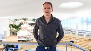 Arkitekten Niklas Mahlberg