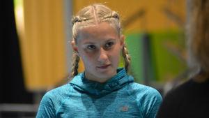 Nathalie Blomqvist representerar IK Falken.