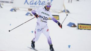 Martti Jylhä vann herrsprinten.