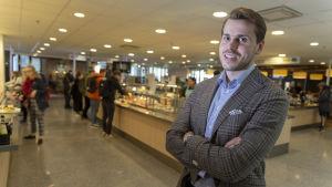 Antti Kerppola UniCafeessa