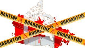 De flesta kanadensiska provinser kräver att alla som har varit utomlands isolerar sig själva i 14 dagar.
