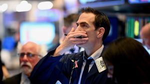 Skrämselhicka på Wall Street på grund av coronaviruset