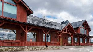 Köpcentret Strand i Ingå.