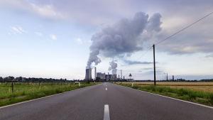 Ett kraftverk i Tyskland.