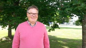 Ordförande för stadsdelsföreningarnas samråd i Vasa Peter Remahl.