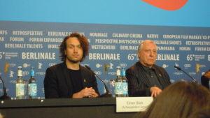 Elmer Bäck på Berlinale 2015.